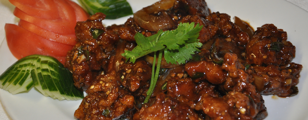 We've got the best chili chicken in town!