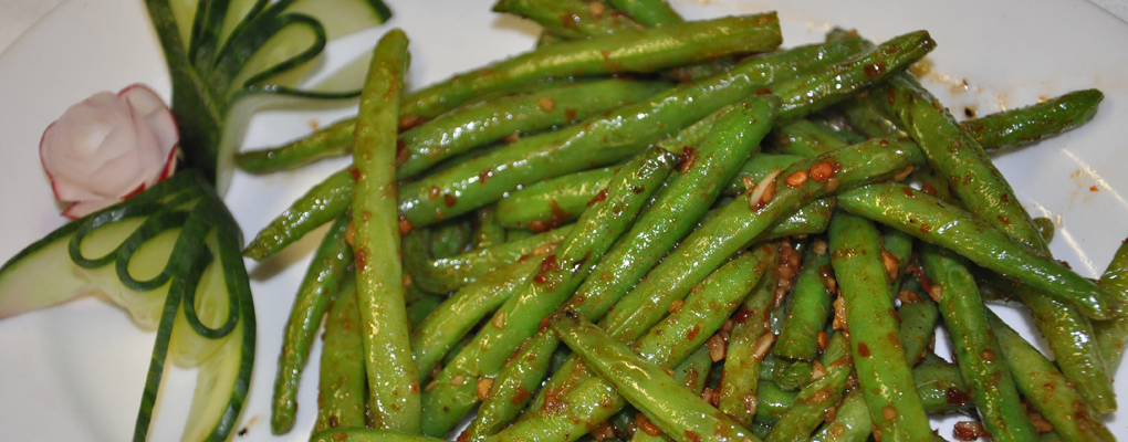 Vegetarian? We've got Green Beans!